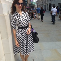 "The ""Audrey Hepburn"" dress"