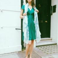 green dress2
