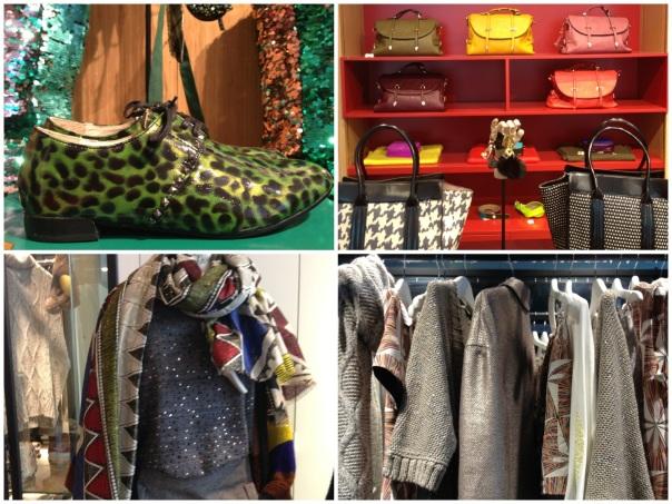 Bright accessories at Essentiel