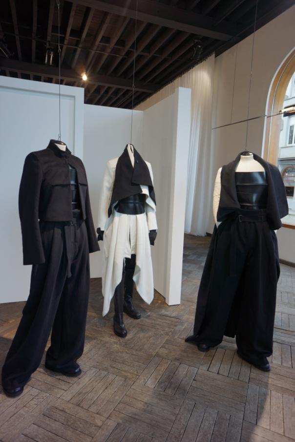 Ann Demeulemeester's creations