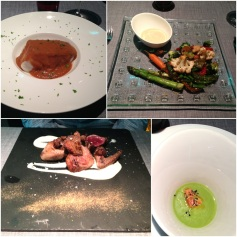 Food at Porrue is not only a tasting but also a visual experience