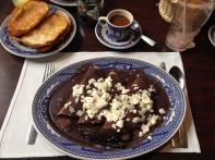 Breakfast at La Casa de Azulejos, Mexico City