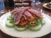 Fresh tuna in Playa del Carme