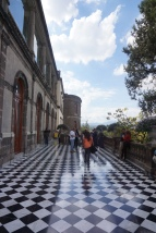Beautiful Chapultepec Castle, very stylish floors...