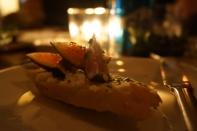 international cuisine at stylish Alekzander, Roma, Mexico City