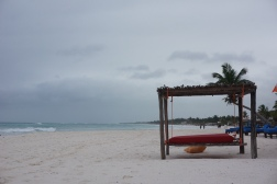 Beach bed, Tulum. Gave me a major lifestyle inspiration