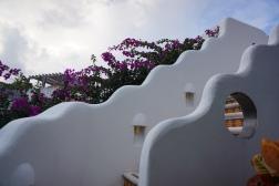 Terrace at Quinto Sol hotel in Playa del Carmen