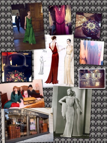 My mood board for 1930s haute couture style