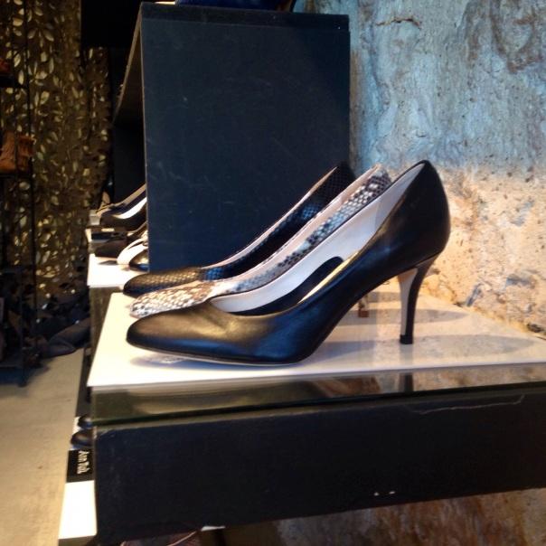 Parisienne style shoes