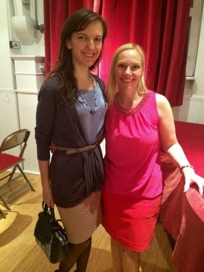 At Winning Women networking event