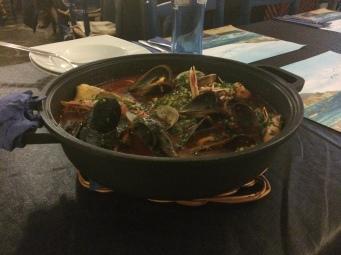 Delicious seafood stew in Cadaquez