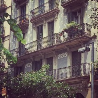 Charm of Barcelona - no two buildings are the same